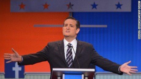 Cruz speaking