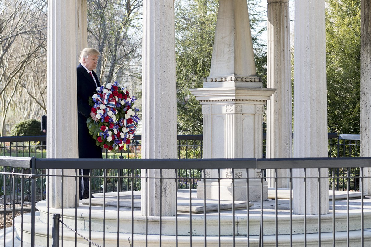 Trump Jackson Tomb