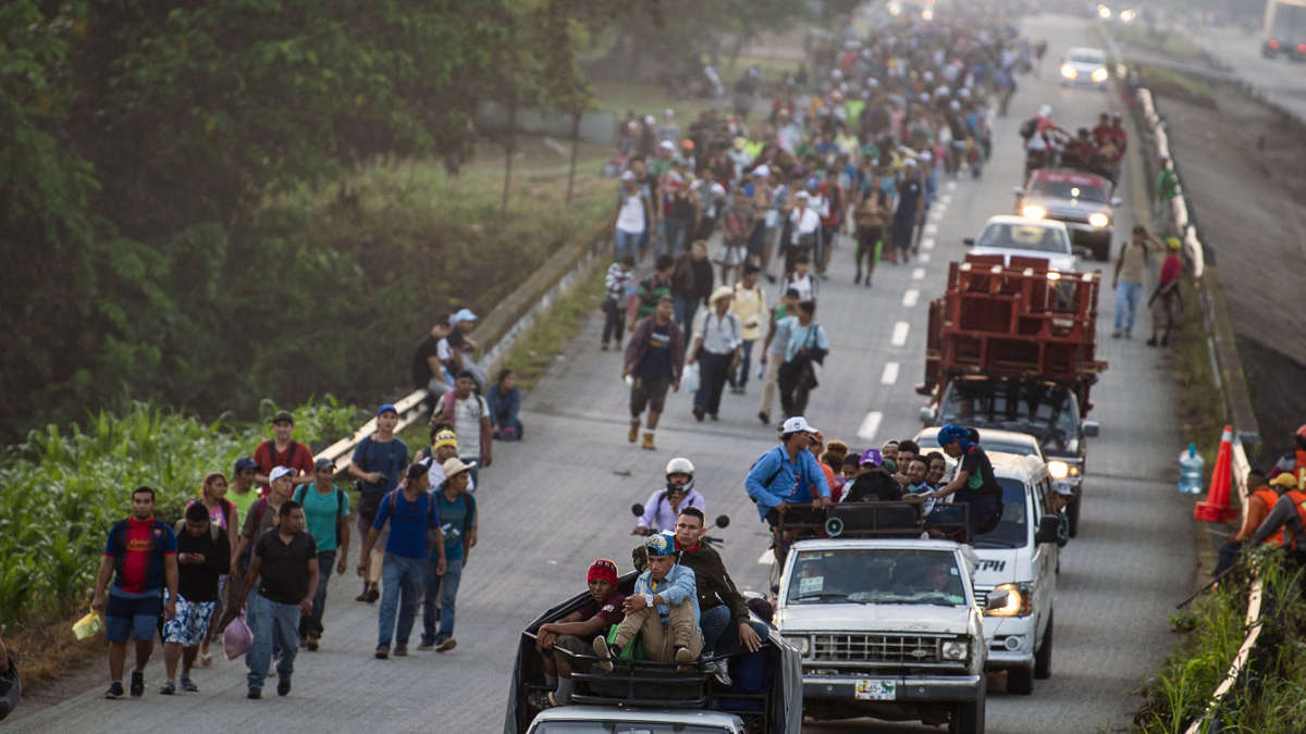 Migrant-caravan-travels-towards-U.S