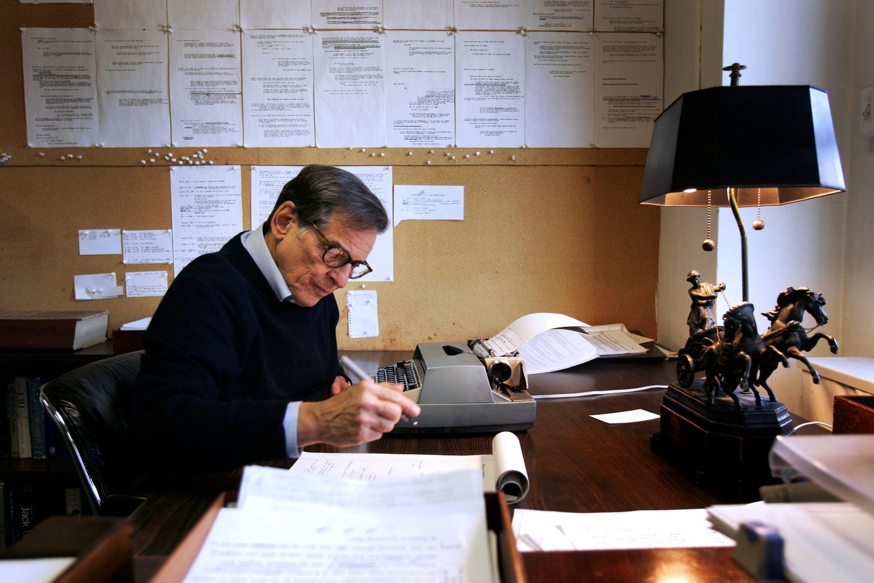 """Robert Caro, author of """"The Power Broker,"""" a biography on Ro"""