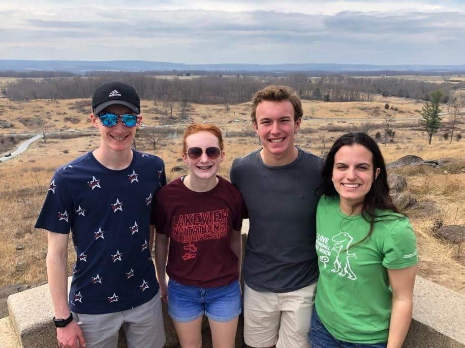 Gettysburg with the Fraazas