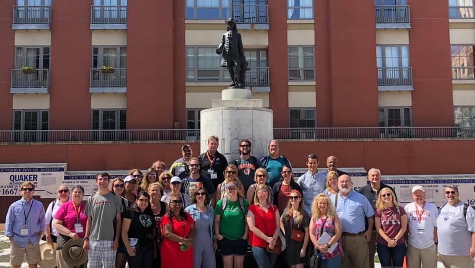 PRinceton Seminar 2019 at Welcome Park