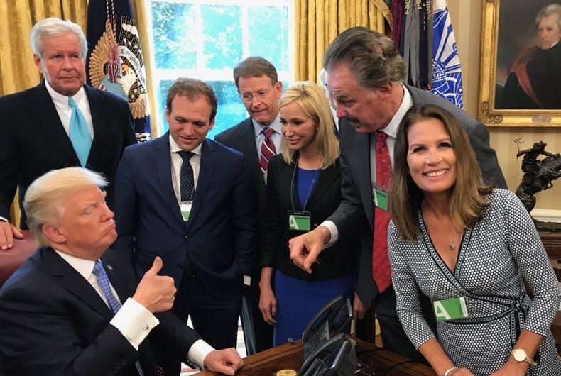 Trump-Bachmann-Pence-religious-right