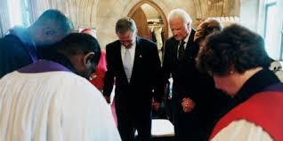 Bush prayer