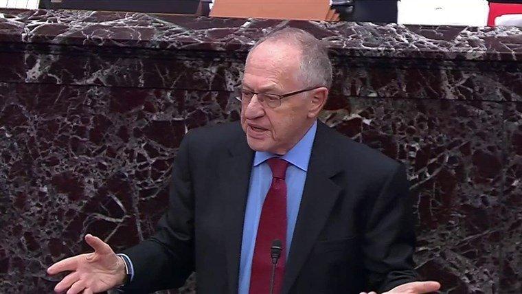 Dershowitz Senate