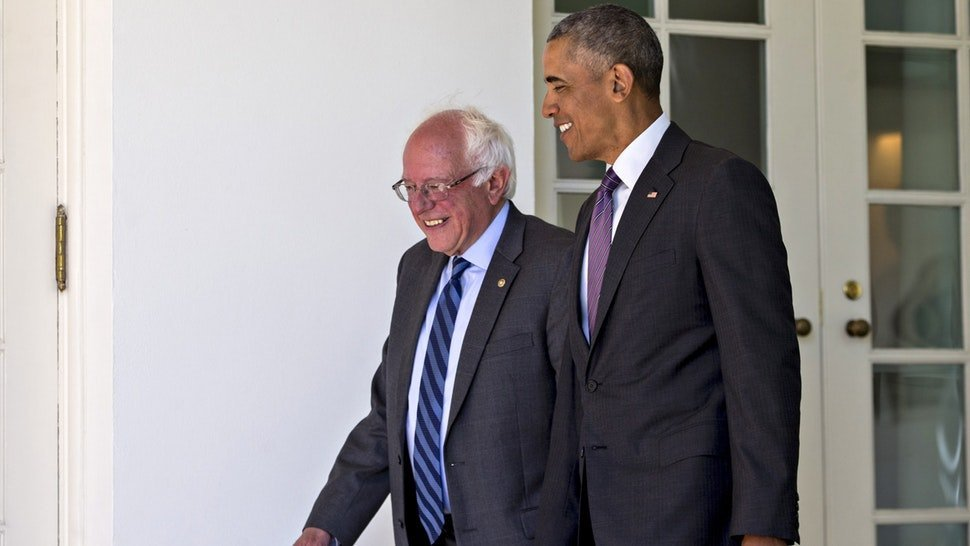 Sanders and Obama