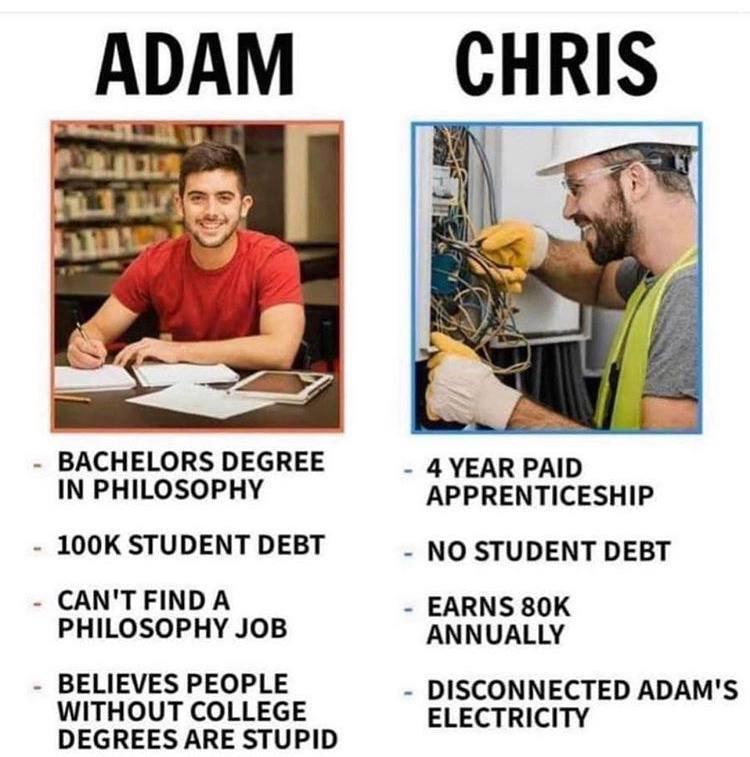 Meme Philosophy job