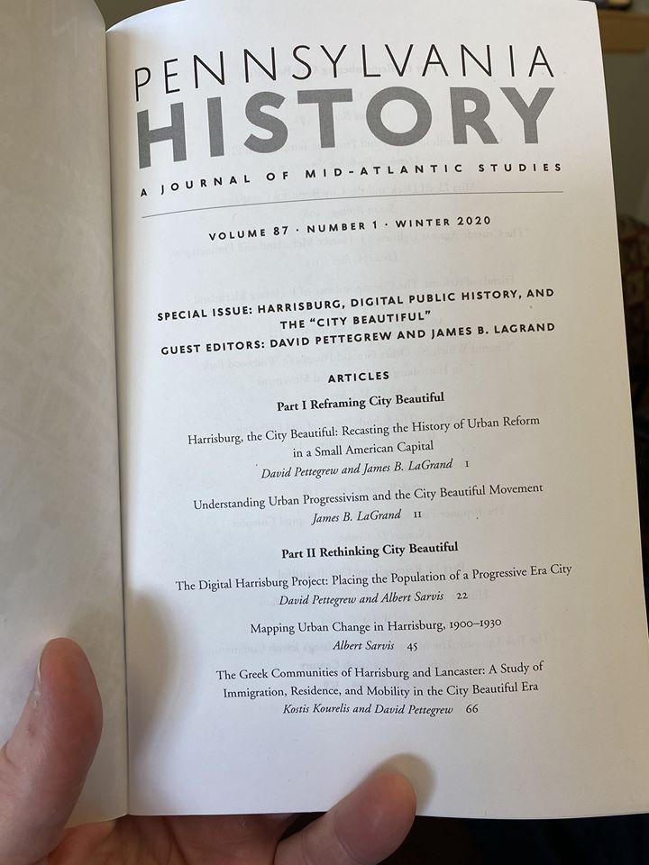 PA History Harrisburg