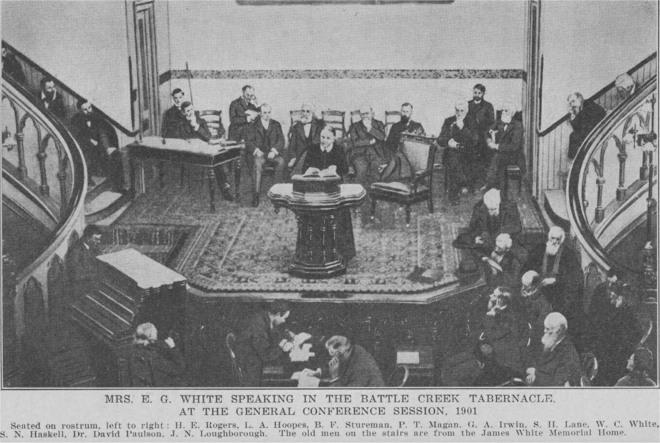 ellen white at gc session 1901
