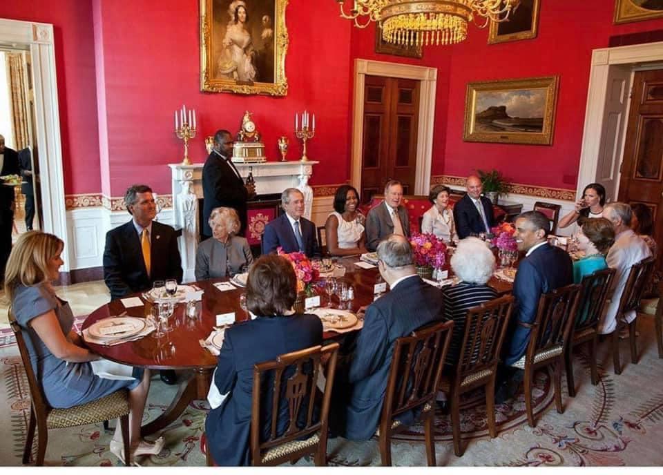 White House Bush Obama