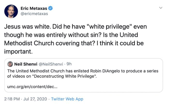 Jesus was white