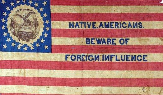 nativist flag